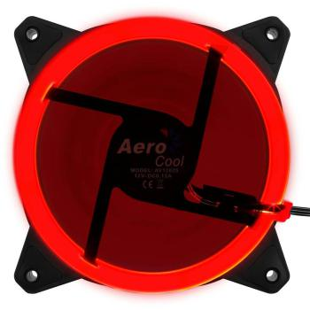 Lüfter 120mm AeroCool Rev Red