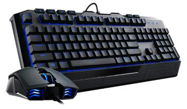 Desk CoolerMaster STORM Devastator2 + Maus (blaue LED´s)