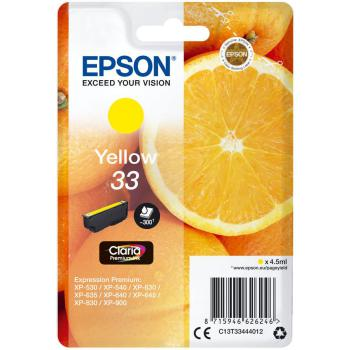Tinte Epson 33 Yellow