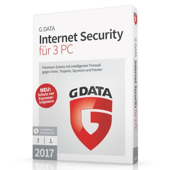 G DATA Internet Security Lizenz 3 PCs Neukauf