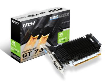 GeForce GT730 2GB MSI N730K-2GD3H LP/P/1xDVI/1xHDMI/1xVGA