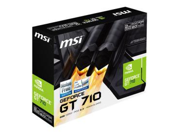 GeForce GT710 - MSI N710-2GD3H/LP 2048MB,DVI,HDMI,LP,passiv