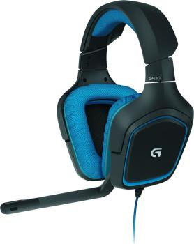 Headset Logitech G430 Gaming black/blue