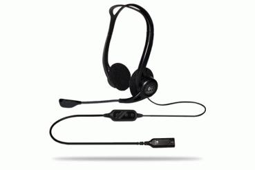 Headset Logitech PC 960 USB - Headset - On-Ear