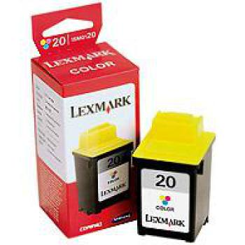 Tinte LEXMARK 20 - color