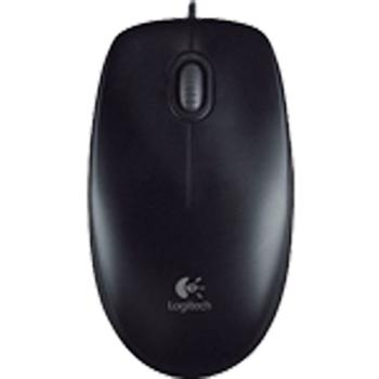 Maus Logitech B100 Optical Wheel Mouse USB