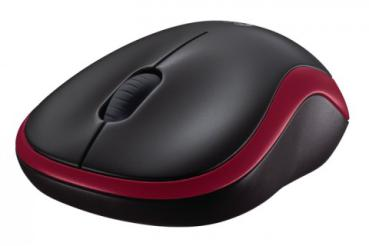 Maus Logitech Wireless M185 Mouse USB rot retail