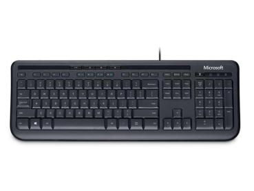 Tas Microsoft Wired Keyboard 600 black