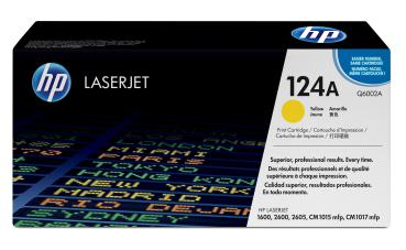 Toner HP Q6002A -124A - yellow