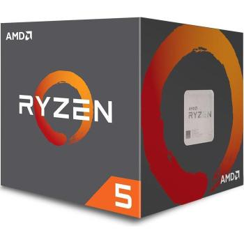 CPU AM4 AMD Ryzen 5 2600X - 3,6-4.2GHz - 6C/12T 95W