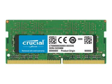 SO-DDR4 8GB 2666MHz Crucial - CL19 - 1,2V