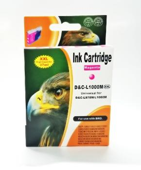 Tinte Brother LC970M & LC1000M kompatible Patrone - 11ml