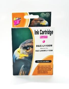 Tinte Brother LC980M & LC1100M kompatible Patrone - 10,6ml