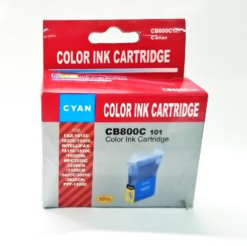 Tinte Brother LC800C kompatible Patrone - 400Seiten