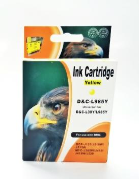 Tinte Brother LC-985 High Capacity yellow