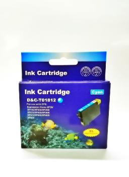 Tinte Epson 18XL cyan refilled 16ml