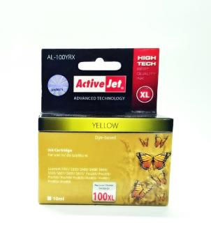 Tinte LEXMARK 100XL yellow 10ml ActiveJet Refill